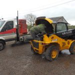 Komatsu Come to the Rescue of Racehorse Rescue Centre