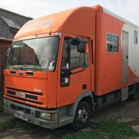 7.5T Ford Iveco Horse lorry 2001